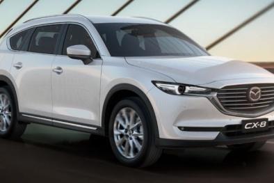 Mazda CX-8 'đẹp long lanh' vừa trình làng, giá từ 715 triệu đồng hấp dẫn cỡ nào?
