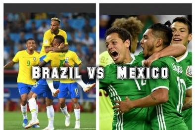 Truyền hình trực tiếp World Cup 2018 trận Brazil gặp Mexico hãy chọn kênh có bản quyền