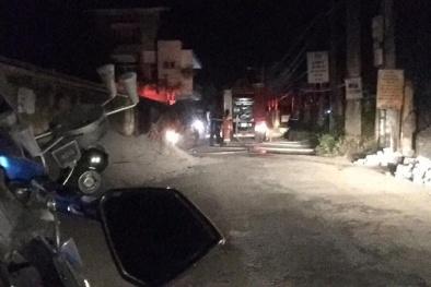 Hà Nam: Bốt điện Thanh Tuyền bùng cháy do quá tải