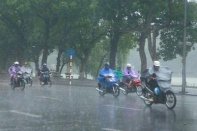Cảnh báo Hà Nội sẽ có mưa dông và tố lốc