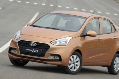 'Vượt mặt' những cái tên 'đình đám', Hyundai Grand i10 là mẫu xe bán chạy nhất tháng 6