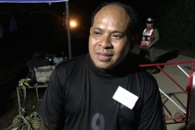 Cha cậu bé Thái Lan được giải cứu: 'Tôi mong chờ được ôm con vào lòng'