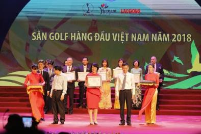 FLC Sam Son Golf Links nhận giải thưởng 'Sân golf hàng đầu Việt Nam'
