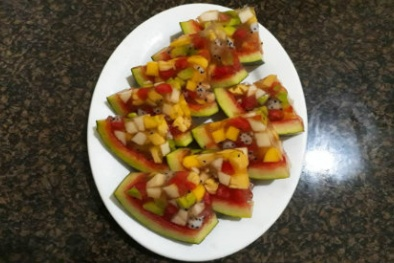 Cách làm thạch trái cây Thái Lan đơn giản, độc đáo