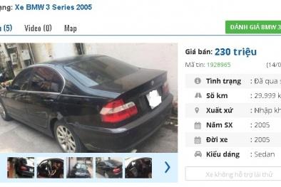 Chiếc ô tô BMW cũ này được rao bán nhiều nhất tầm giá 200 triệu, có nên mua?
