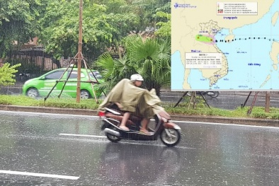 Bão số 3 suy yếu thành áp thấp nhiệt đới, cảnh báo mưa rất to, lũ lớn nhiều nơi