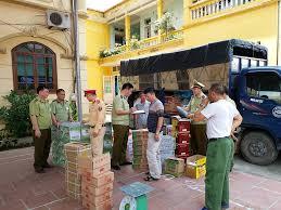 Bắt số lượng lớn thực phẩm Trung Quốc nhập lậu