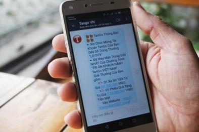Bùng phát nạn lừa đảo 'trúng phiếu mua hàng' qua điện thoại