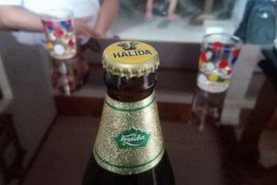 Chai bia Huda lại đóng nắp bia Halida: Chất lượng sản phẩm có ảnh hưởng?