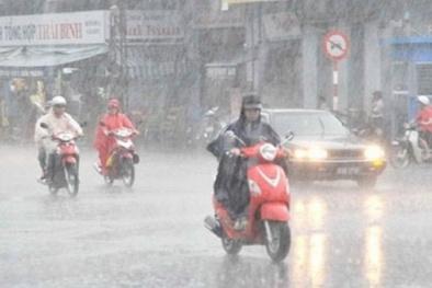 Dự báo thời tiết mưa miền Bắc