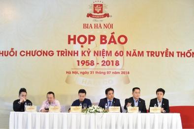 Nhiều ca sĩ nổi tiếng sẽ có mặt trong 'đại tiệc' kỷ niệm 60 năm Bia Hà Nội