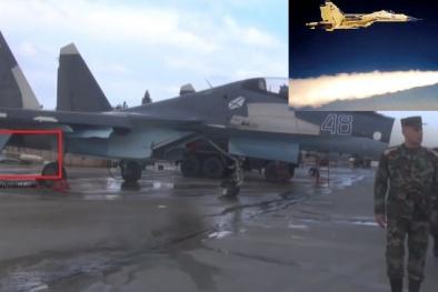 Tên lửa 'cơn ác mộng' của Nga đã bí mật lộ diện tại Syria vừa khoe sức mạnh