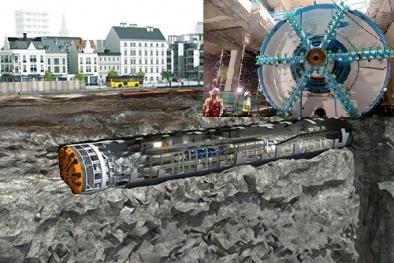 Hé lộ công nghệ siêu hiện đại sử dụng đào hầm tại tuyến Metro tỷ USD ở Hà Nội