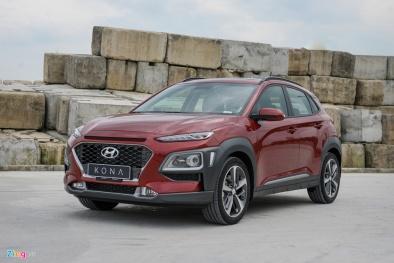 Vừa mới ra mắt, Hyundai Kona nhận ngay mức giảm giá 10 triệu đồng