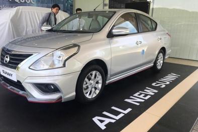 'Cận cảnh' Nissan Sunny 2018 vừa bất ngờ xuất hiện tại Việt Nam