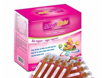 Thu hồi sản phẩm thực phẩm bảo vệ sức khỏe Medikids