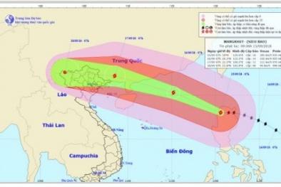 Siêu bão Mangkhut diễn biến phức tạp: Cục Hàng không chỉ đạo ứng phó