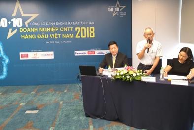 Hé lộ danh sách 50 doanh nghiệp CNTT hàng đầu Việt Nam 2018