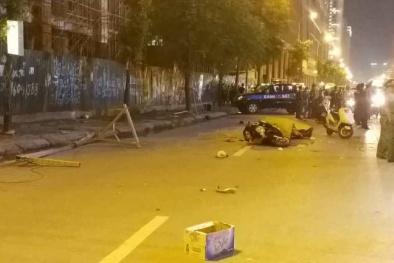 Nguyên nhân vụ rơi thanh sắt công trình trên đường Lê Văn Lương khiến 2 người thương vong