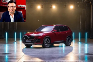 Danh tính đại gia Việt vừa đặt mua 5 chiếc ô tô 'made in Vietnam' VinFast