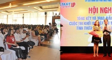 Nhiều dự án đạt giải 'Khởi nghiệp đổi mới sáng tạo' tỉnh Thừa Thiên Huế 2018