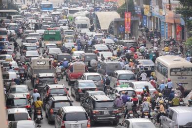 Chuyên gia giải bài toán khắc phục ùn tắc, ô nhiễm môi trường Hà Nội