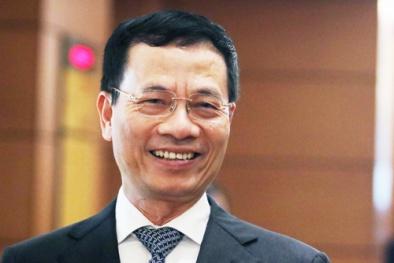 Ông Nguyễn Mạnh Hùng được phê chuẩn làm Bộ trưởng Thông tin Truyền thông