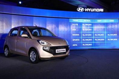 Hyundai Santro 123 triệu ra mắt 22 ngày, khách ùn ùn đặt mua 29.000 chiếc