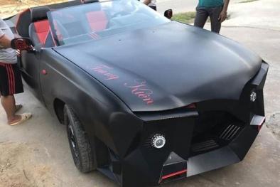 Hà Tĩnh: Từ chiếc Daewoo Celio 'đồng nát' biến thành siêu xe 'vạn người mê'