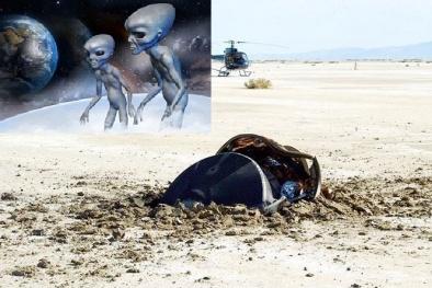 'Vật thể lạ' được xác định rơi xuống sa mạc từ không gian