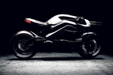Cận cảnh chiếc xe máy điện 'độc nhất vô nhị' thế giới trị giá 90.000 bảng Anh
