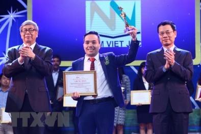 34 tác giả được trao Giải thưởng Công nghệ số Việt Nam năm 2018
