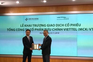 Cổ phiếu Viettel Post chính thức chào sàn UPCoM với giá 68.000 đồng
