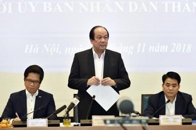 'Hà Nội chuyển biến mạnh nhưng Thủ tướng mong đợi nhiều hơn nữa'