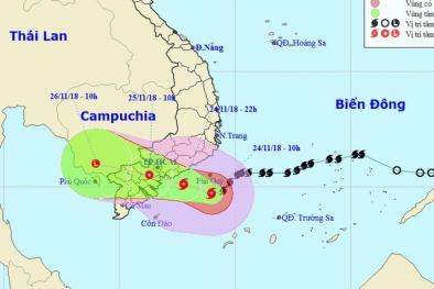 Bão số 9 giật cấp 12 đổ bộ: TP.HCM mưa lớn, nguy cơ xảy ra giông, lốc xoáy vào đêm nay