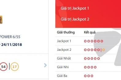Xổ số Vietlott: Thêm một người lĩnh giải Jackpot hơn 36,8 tỷ đồng?