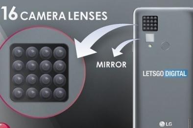 Chiếc điện thoại thông minh này của LG sẽ có tới 16 Camera
