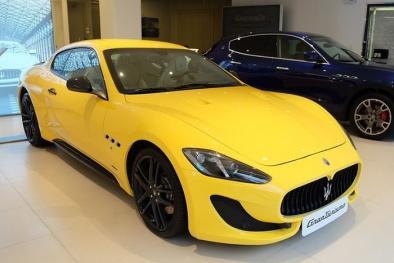 Cận cảnh 'dung nhan' Maserati GranTurismo Sport giá hơn 12 tỷ vừa có mặt tại Việt Nam