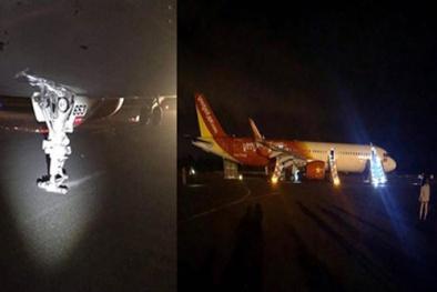 Bộ Giao thông Vận tải sẽ tiếp tục điều tra vụ việc máy bay Vietjet Air rơi bánh