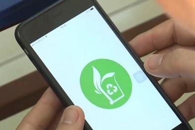 Ứng dụng công nghệ 4.0 giúp người dân đổi rác lấy quà
