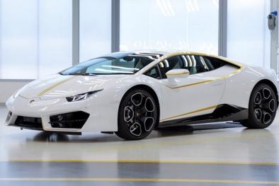 Chỉ với 10 USD, bạn cũng có cơ hội sở hữu siêu xe Lamborghini Huracan của Giáo hoàng Francis