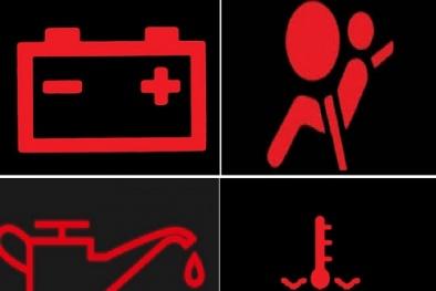 Tài xế 'nhắm mắt' bỏ qua 8 đèn cảnh báo này trên ôtô dễ gặp tai nạn