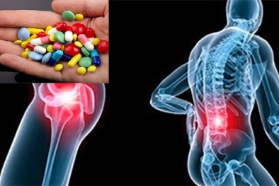Lạm dụng thuốc giảm đau xương khớp coi chừng biến chứng khó lường