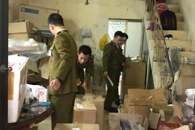 Đột kích cơ sở kinh doanh 'chui', thu giữ 6 mặt hàng mỹ phẩm không hóa đơn chứng từ
