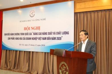Thứ trưởng Trần Văn Tùng: Chương trình 712 được cộng đồng doanh nghiệp đánh giá cao