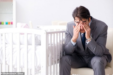 Những ông bố bị 'trầm cảm sau sinh' có thể sẽ khiến con gái mắc bệnh về tâm lý