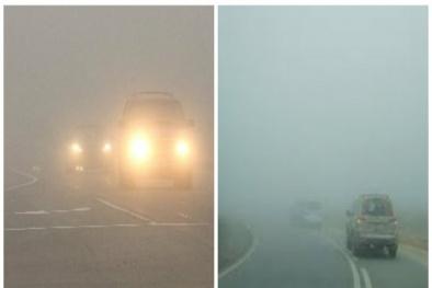 Dễ gặp tai nạn khi lái xe ô tô ngày giá rét, sương mù và điều cần tránh