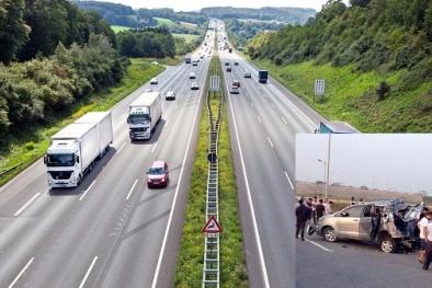 'Kinh nghiệm sống còn' khi chuyển hướng ô tô đột ngột trên cao tốc