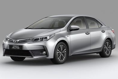 Thị trường ô tô Việt: Cập nhật bảng giá xe Toyota tháng 1/2019