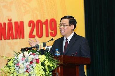 Phó Thủ tướng Vương Đình Huệ: 'Ngành thuế phải ký giao ước thi đua là không có tiêu cực!'